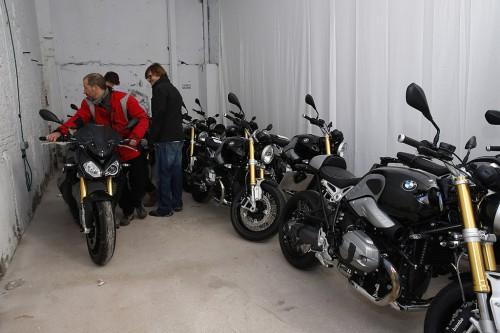 Presentación BMW NineT y S-1000-R. Madrid 4 y 5 de marzo de 201